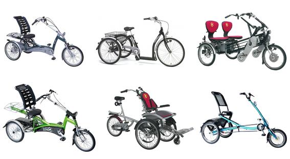 Pfau Tec und Van Raam: Dreiräder mit Qualität