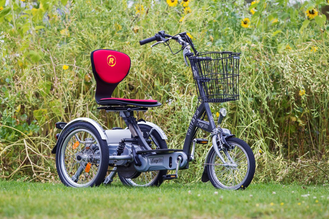 EasyGo von Van Raam - 3 in 1 Scooter Elektro-Dreirad