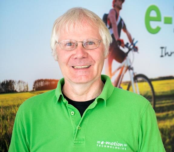 Das Team vom Dreirad-Zentrum Kleve: Ulrich Tehorst