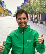 Julien aus dem Dreirad-Zentrum Moers