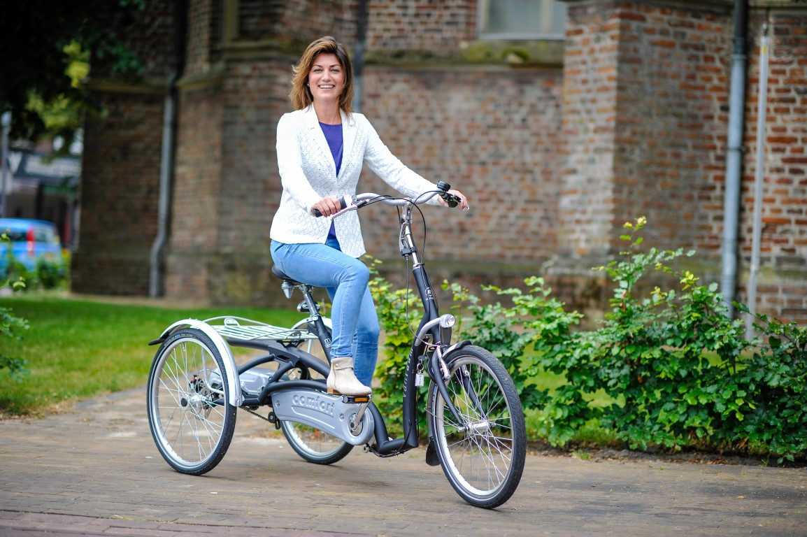 Maxi Comfort Dreirad von Van Raam - Komfortabel durch Frankfurt