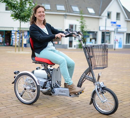 Van Raam Easy Go Scooter: Sicherheit im Straßenverkehr