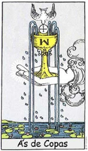 As de copas baraja de tarot interpretación