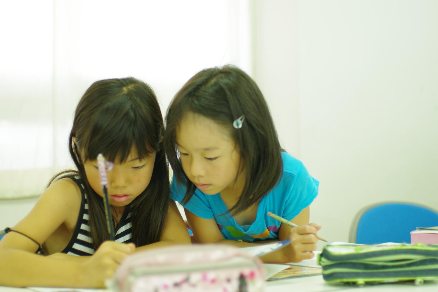 一緒に考え合えば必ず問題は解いていけます!教え合い、学び合う!