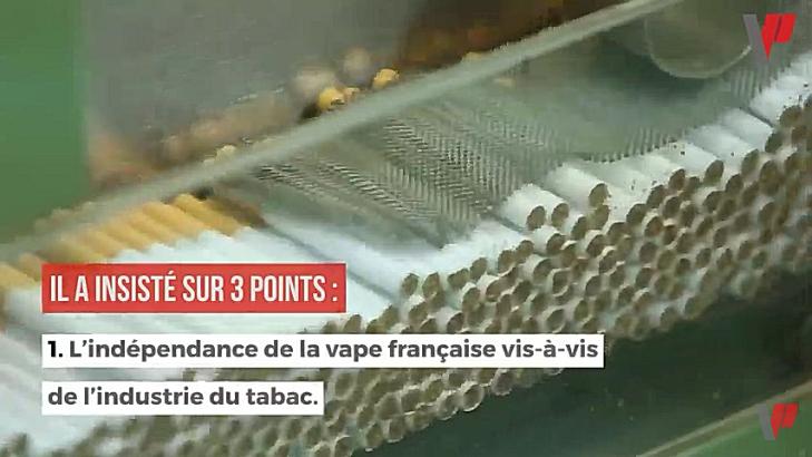 France : la Fivape dénonce l'entrisme de l'industrie du tabac à l'Assemblée Nationale