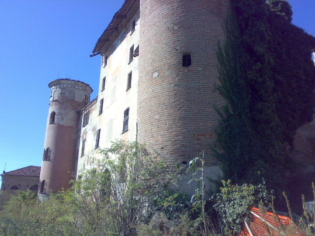 un angolo del castello