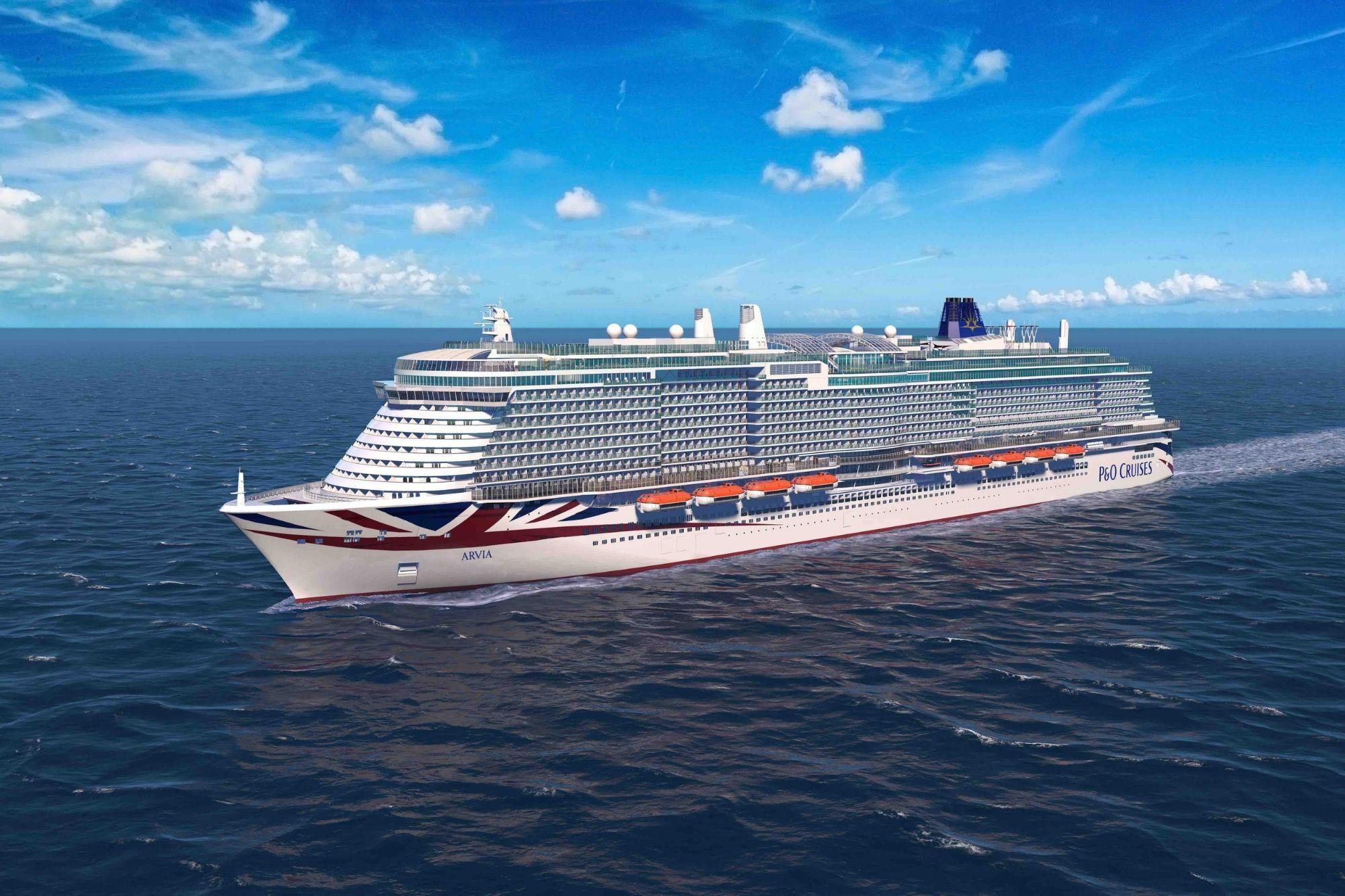 P&O Cruises: ,,IONA''-Schwester wird ,,ARVIA'' heißen