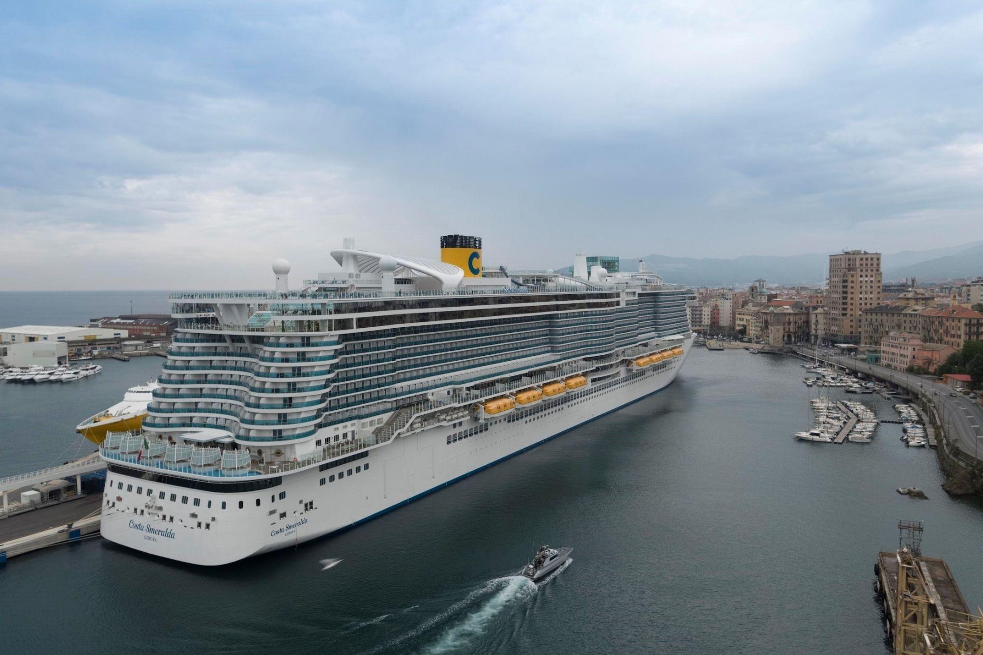 Costa Smeralda seit Samstag wieder im Mittelmeer unterwegs