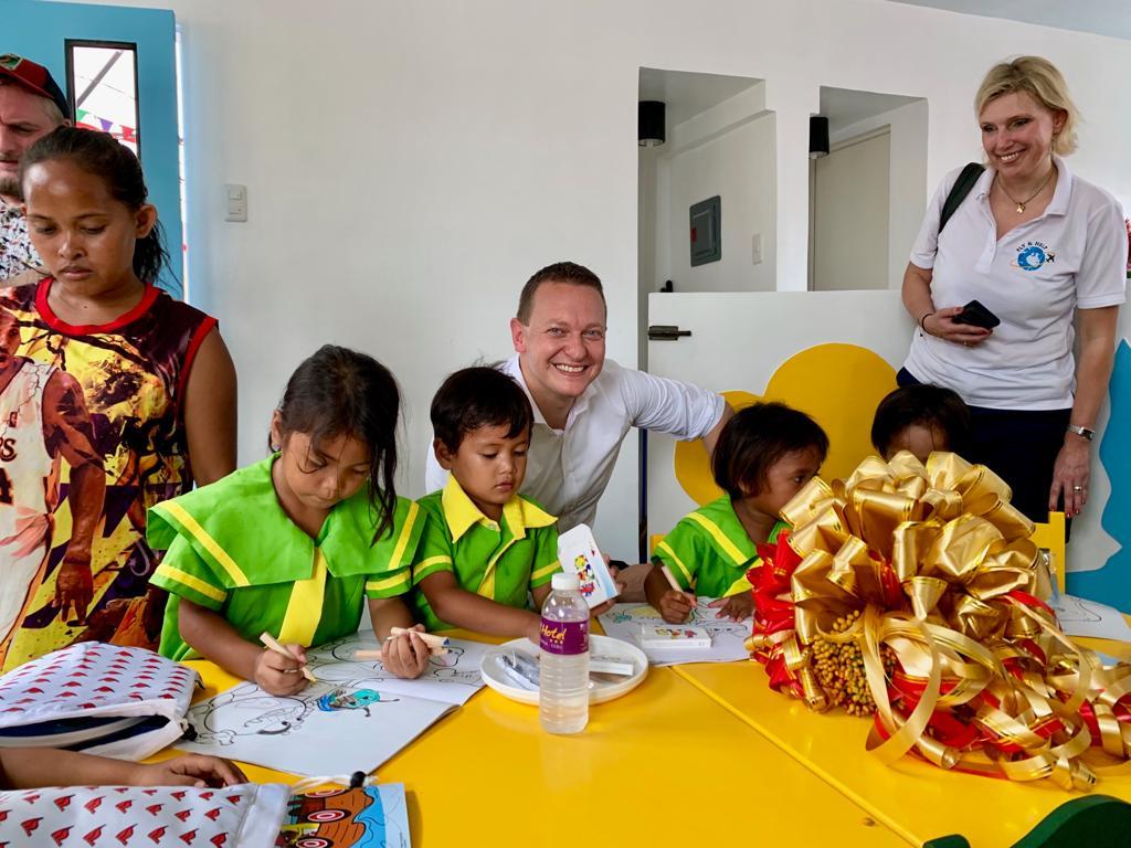 AIDA eröffnet Schule aus Spendengeldern |©AIDA Cruises