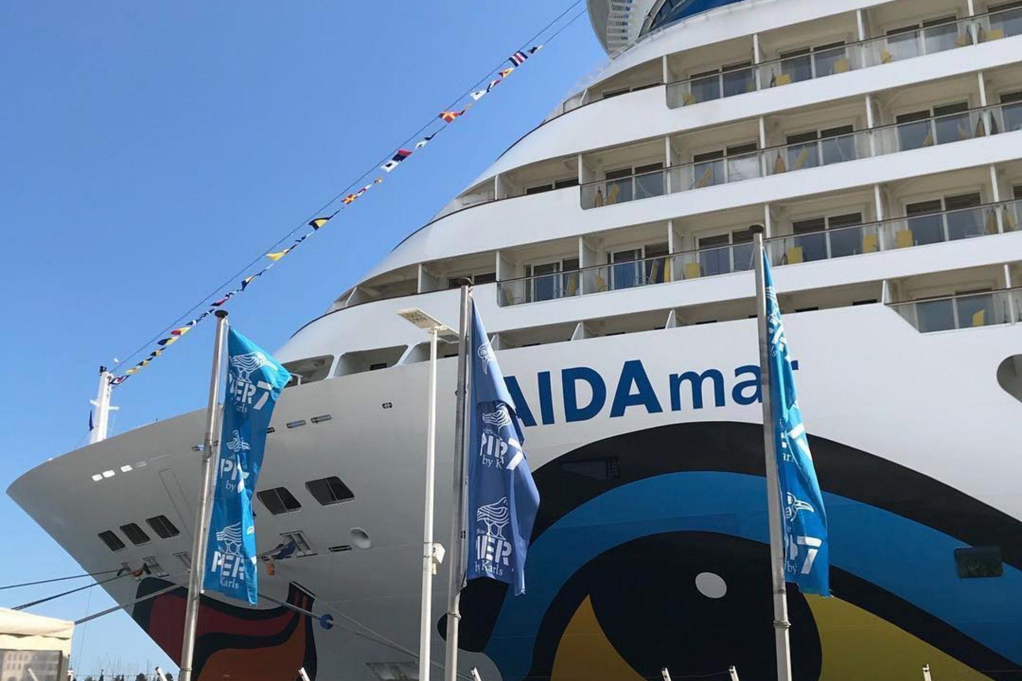 AIDA Cruises seit Sonntag mit zweitem Schiff auf den Kanaren unterwegs