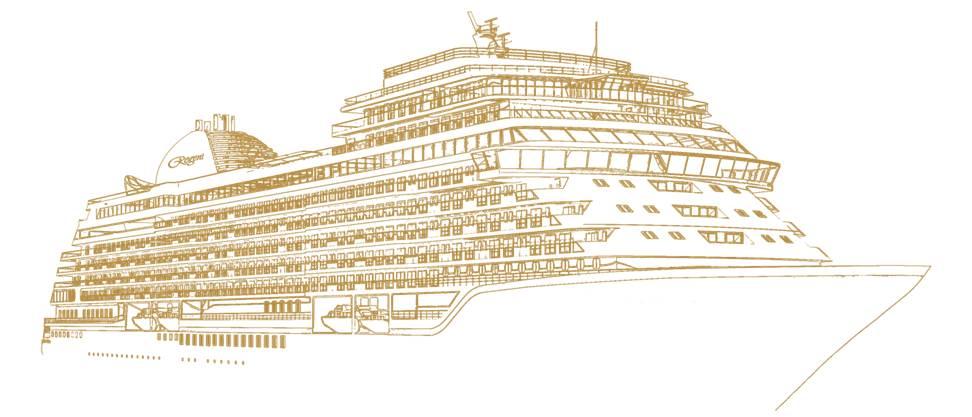 Regent Seven Seas Cruises Luxus-Kreuzfahrtschiff 2023