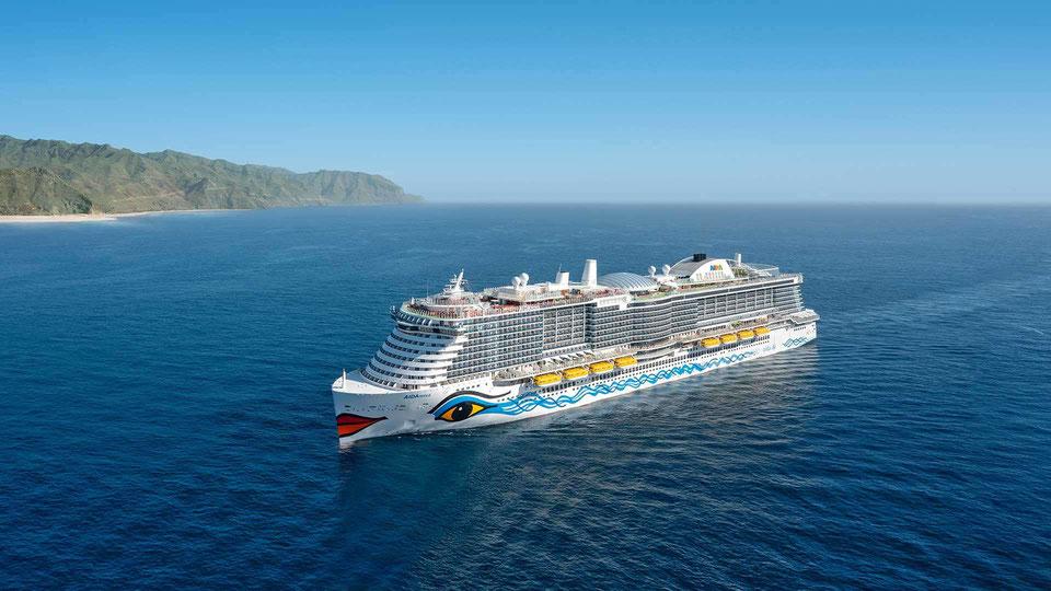 AIDAnova kann Barcelona nicht anlaufen | Foto: AIDA Cruises