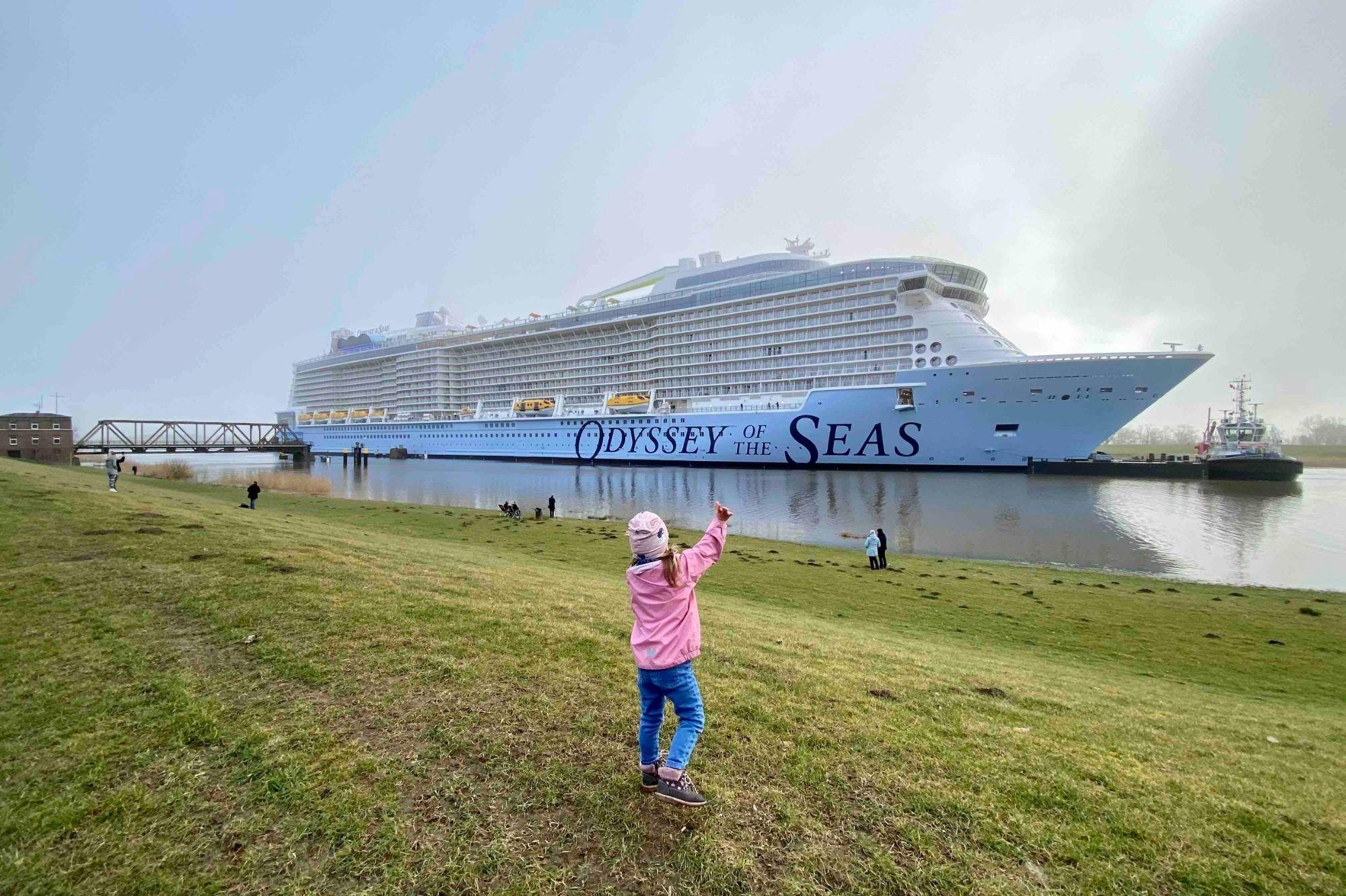 Meyer Werft: Zwei Corona-Fälle auf der Odyssey of the Seas