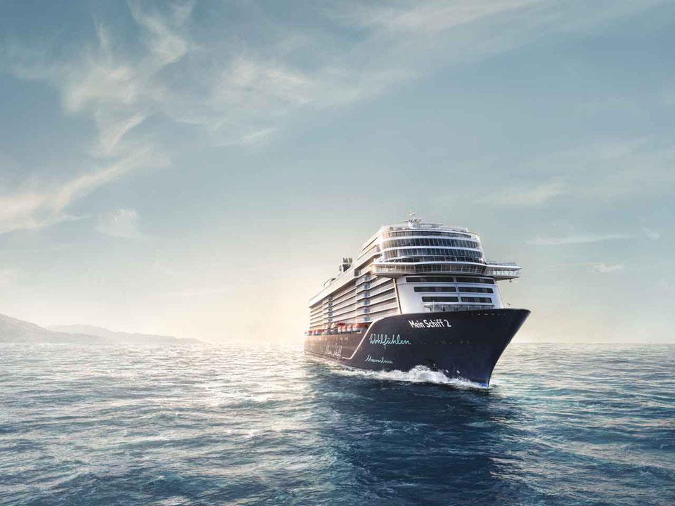 Die Mein Schiff 2 ist das neuste Schiff der Flotte | © TUI Cruises
