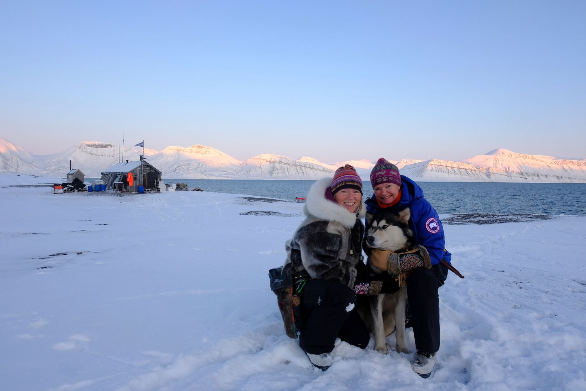 Sunniva Sørby & Hilde Fålun Strøm taufen MS Fridtjof Nansen