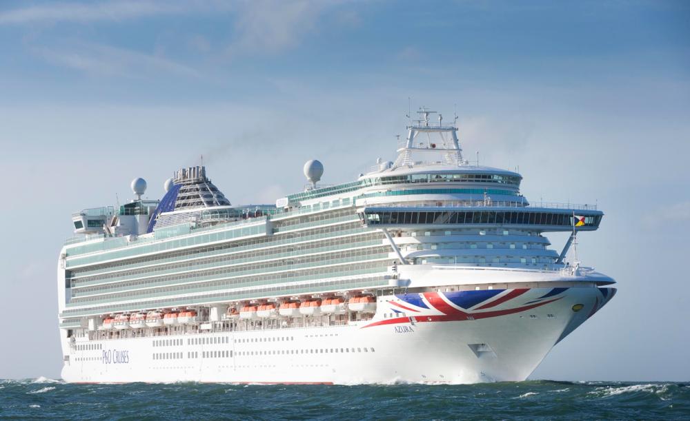 Auch die Azura zieht es in den Norden // © P&O Cruises