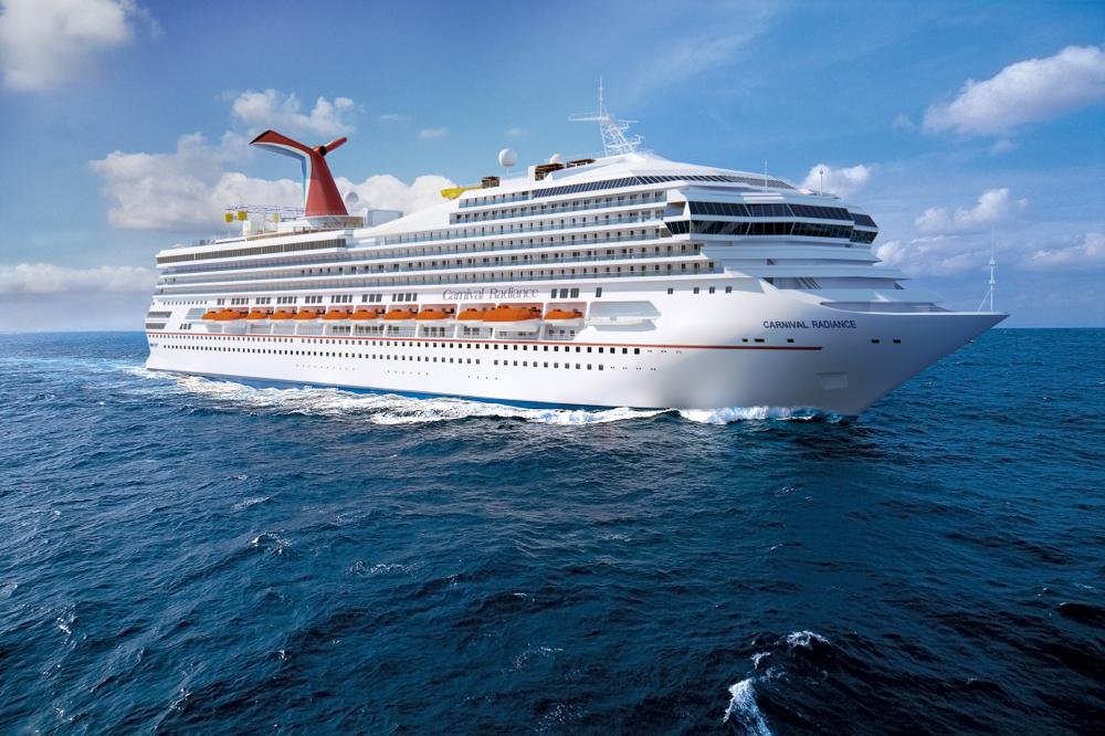 Carnival Victory nach ihrem Umbau zur Carnival Radiance 2020 // © Carnival Cruise Line