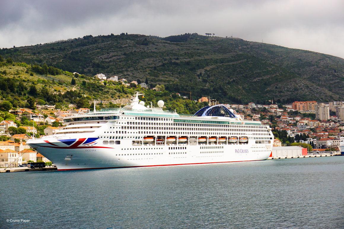 P&O Cruises Oceana Dubrovnik