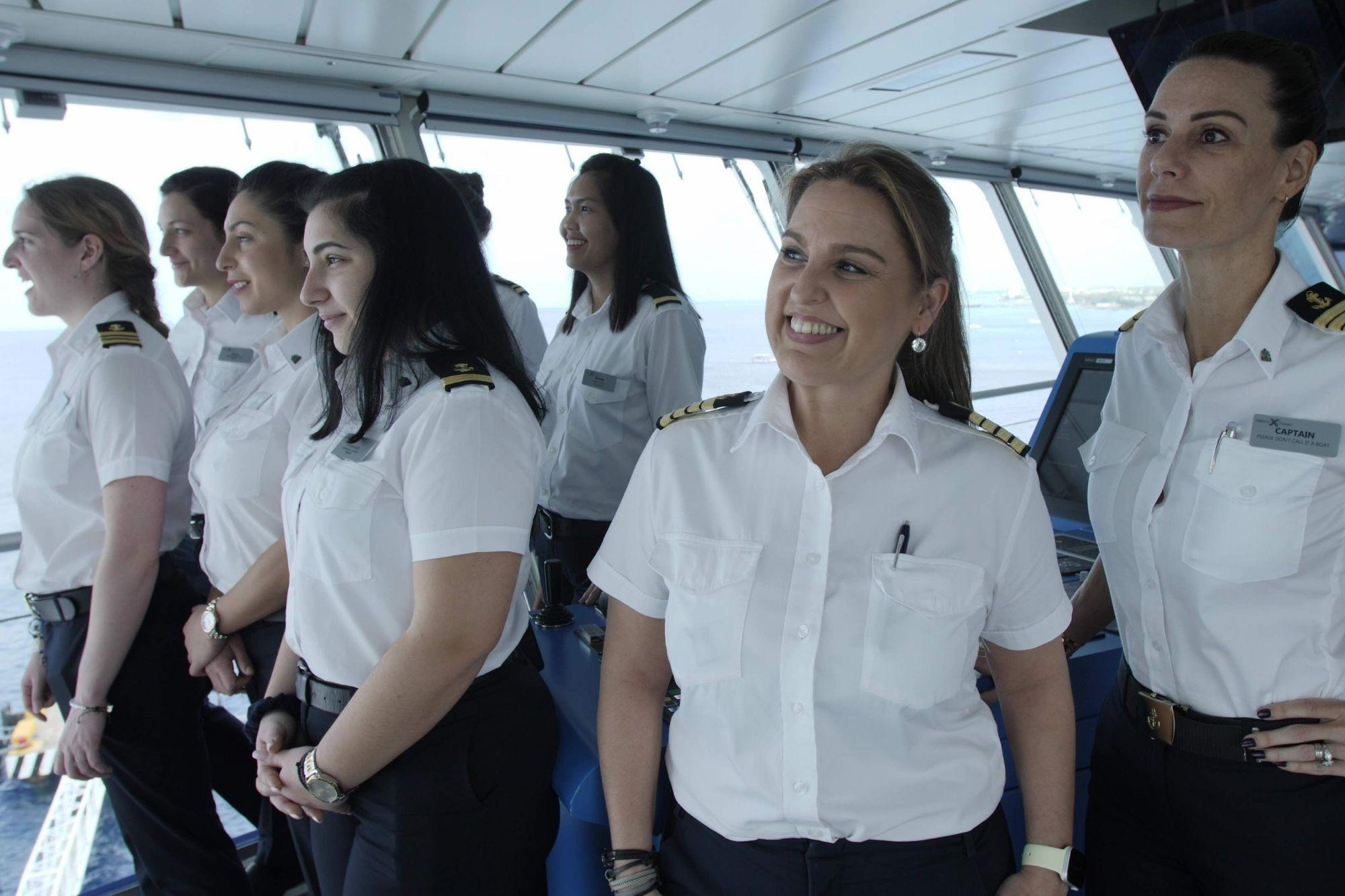 Celebrity Cruises setzt sich für mehr Frauen auf der Brücke ein