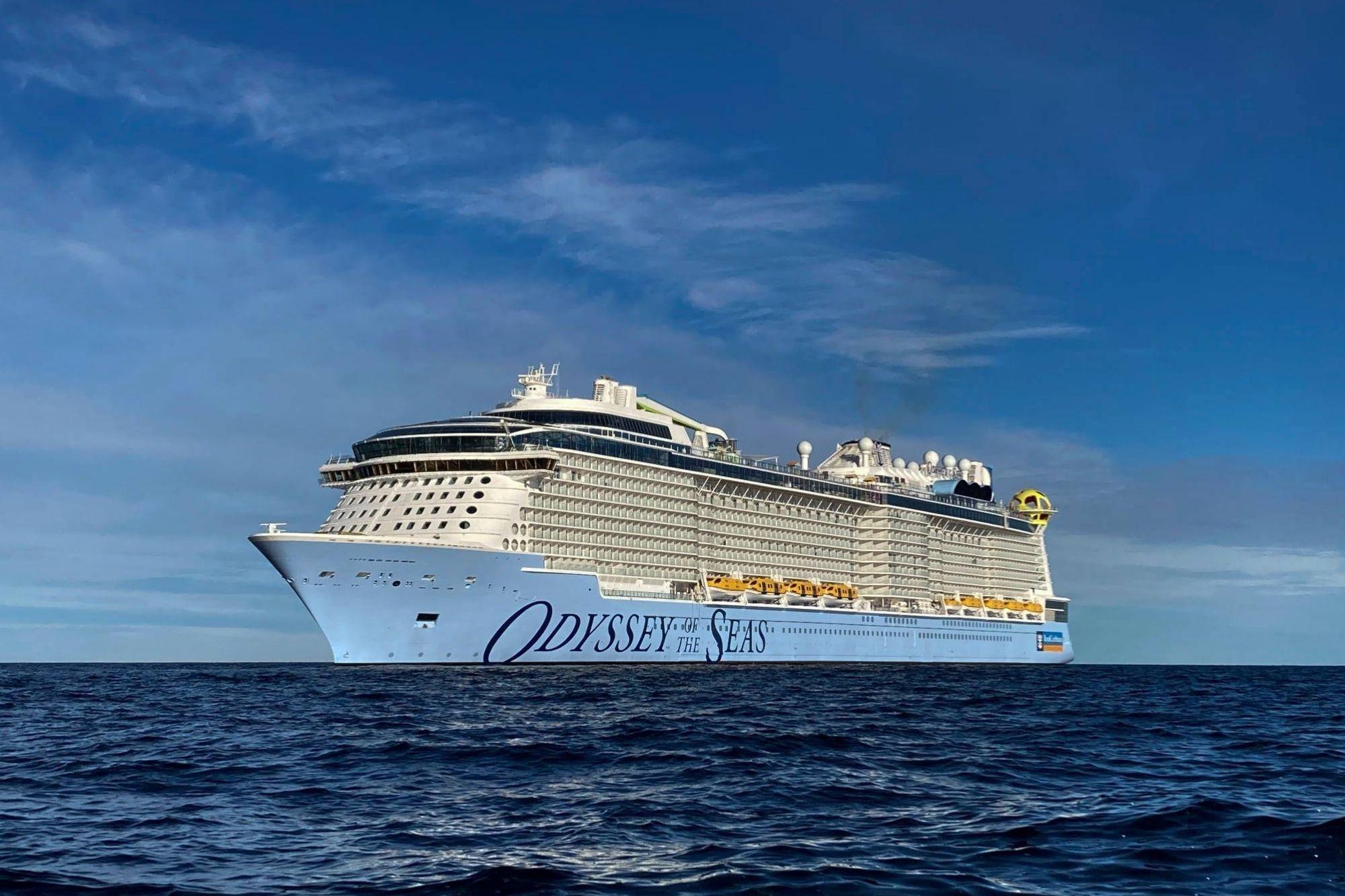 Meyer Werft übergibt Odyssey of the Seas an Royal Caribbean International
