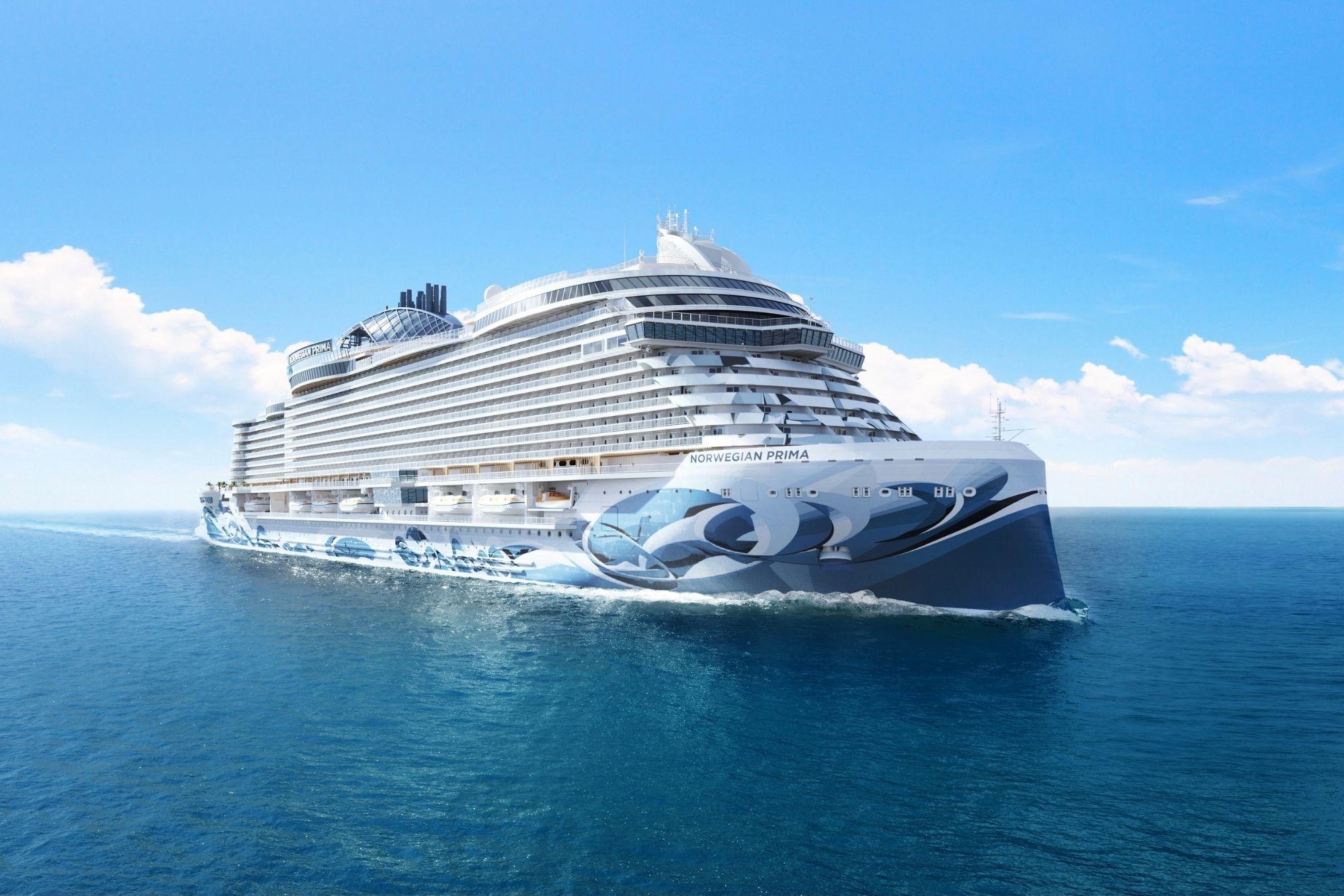 Norwegian Cruise Line stellt Neubau Norwegian Prima vor