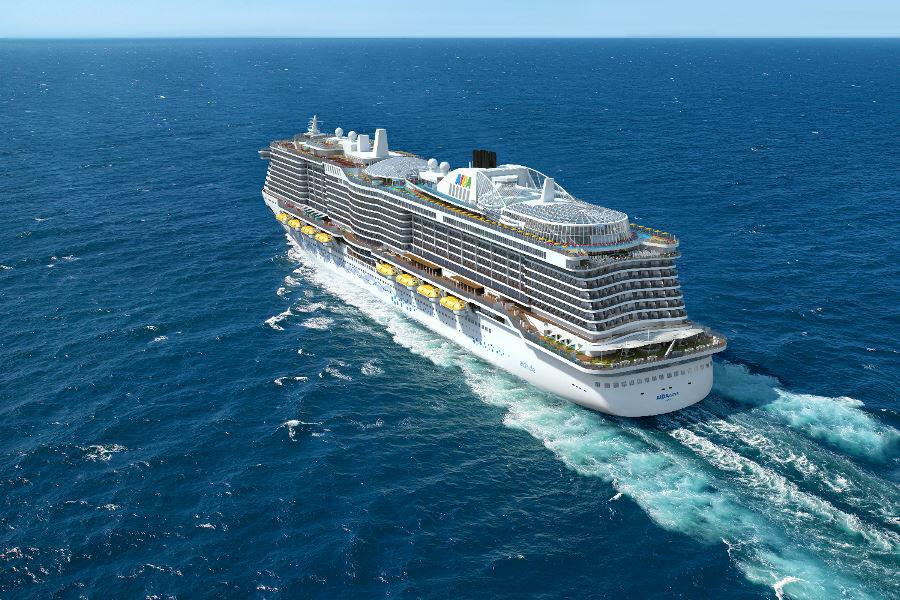 AIDAnova kommt 2018 // © AIDA Cruises