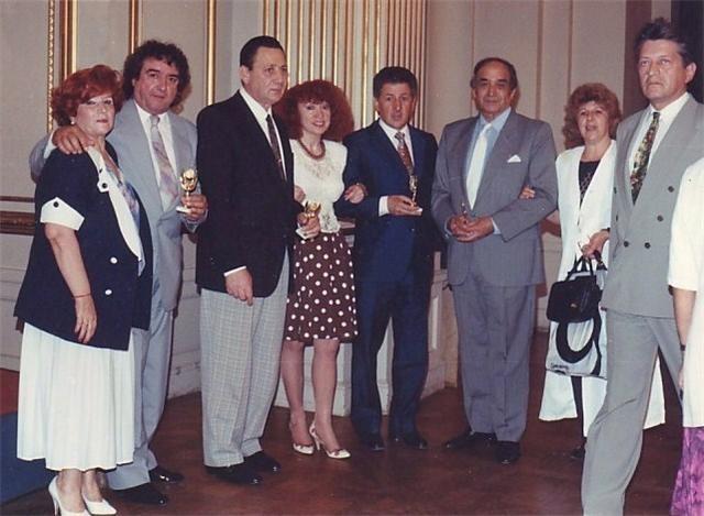 GERARDO PORTALEA, OSCAR HECTOR Y YO, SALON DORADO LEG.