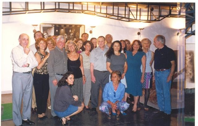 CON ALUMNOS EN EL MUSEO EDUARDO SIVORI