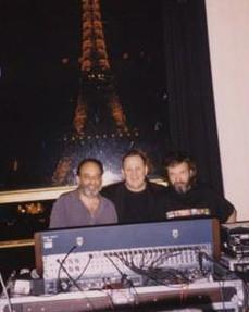 JORGE WAISBUR, LUIS TARANTINO Y YO, PARIS