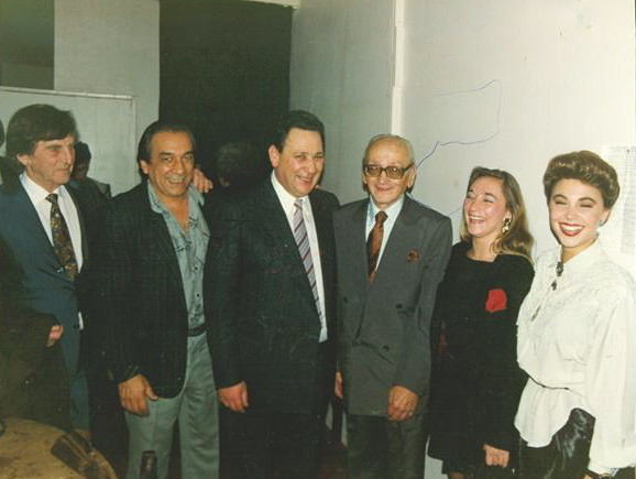 OSVALDOPUGLIESE,VANINA BILOUZ, EDUARDO ARQUIMBAU Y YO