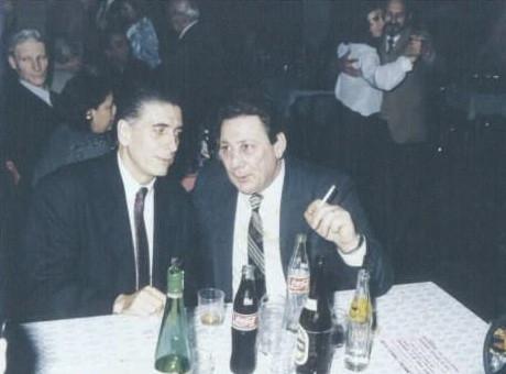 CLAUDIO SEGOVIA(TANGO ARGENTINO) Y YO, PEÑA LA RONDA
