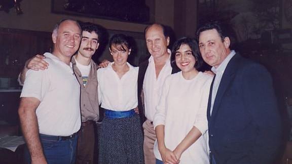 PABLO VERON, ROBERT DUVALL, CAROLINA IOTTI Y YO, SALON CANING