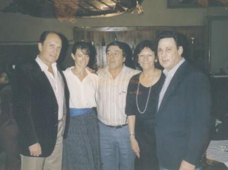 ROBERT DUVALL,MIGUEL BALMACEDA, NELLY Y YO, SALON CANING