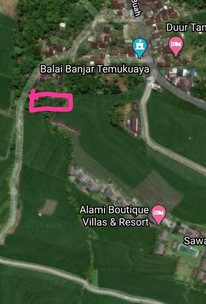 Dijual tanah di Tangguntiti
