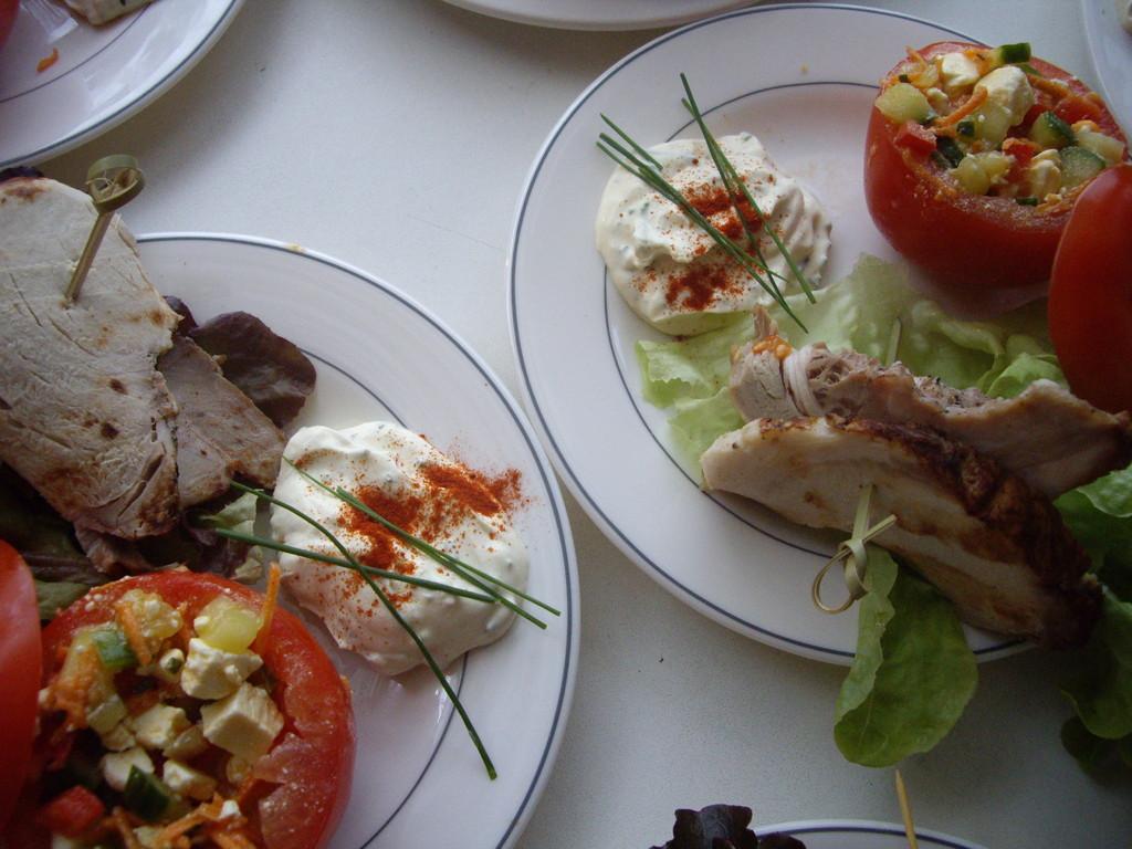 petite salade gourmande