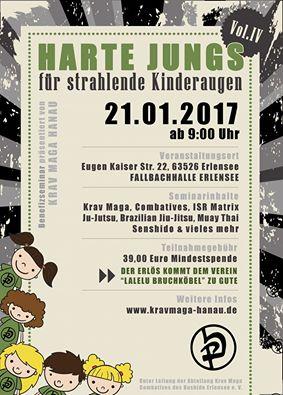 Krav Maga Hanau - Harte Jungs für strahlende Kinderaugen.