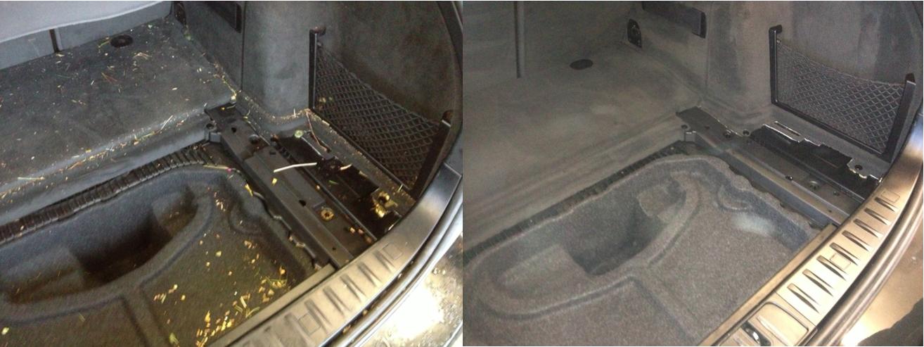 Kofferraum Reinigung