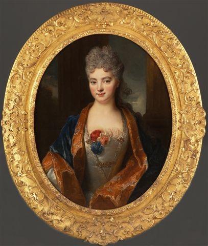 Agathe Gruter par Nicolas de Largillière