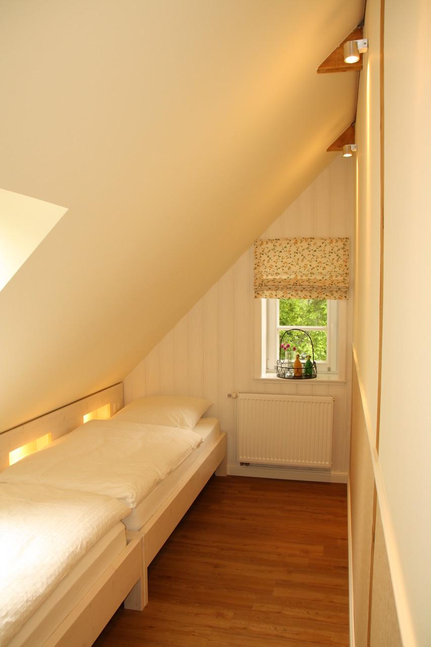 Schlafzimmer II mit separaten Betten