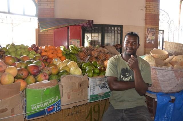 Gemüseverkaufer in Dakar