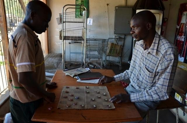 Schach auf afrikanisch