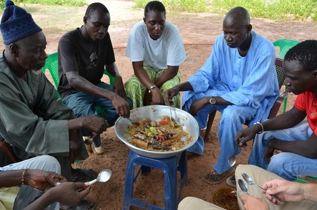 Mittagessen auf senegalesisch