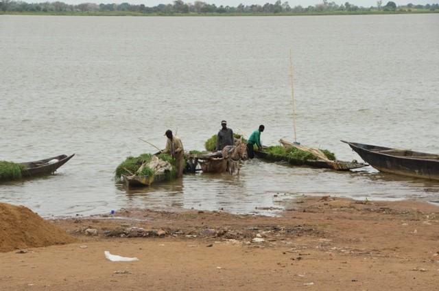 Segou, am Nigerfluss