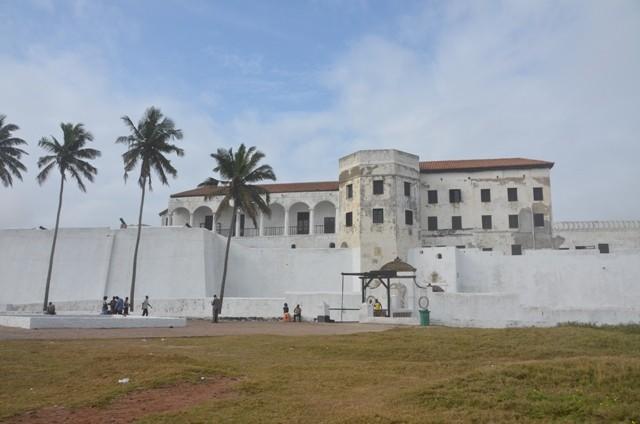 Elmina Castle, von wo die Sklaven weggeschifft wurden