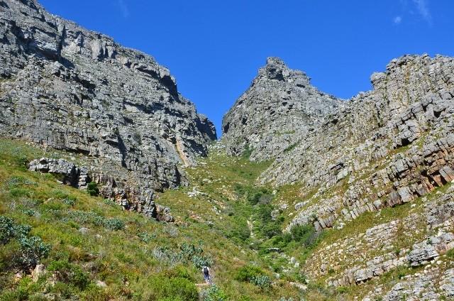 Ein weiter Weg führt auf den Tafelberg