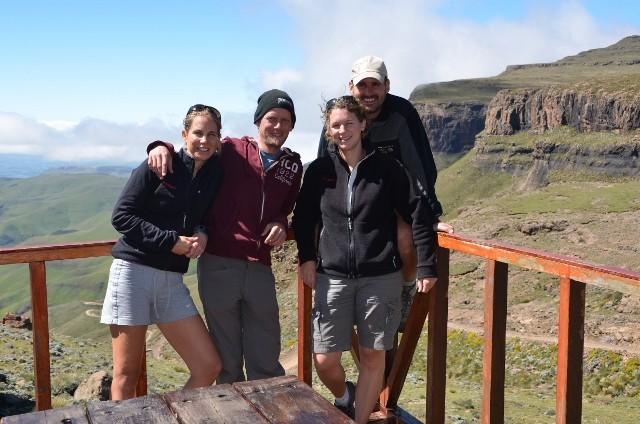 Kafi auf dem Sani Pass in Lesotho