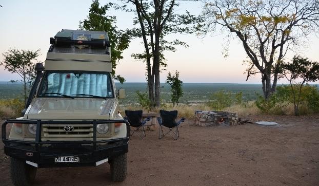 Camping im Hwangi NP