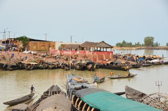 Pirogen nach Timbuktu in Mopti