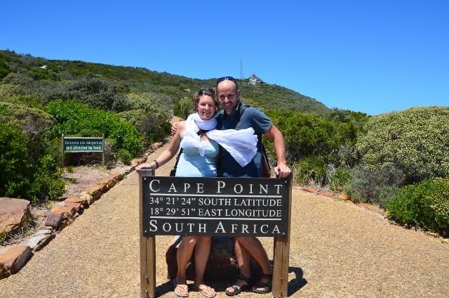 nach genau 250 Tagen on the Road stehen wir am Kap...