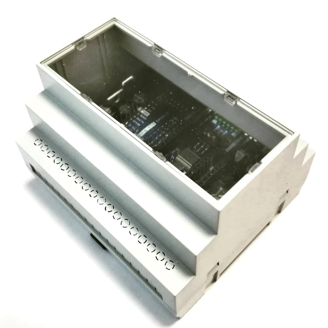 ArduiBox MKR Gehäuse Kit - Ansicht rechts / Unterseite